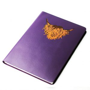Highland cow journal