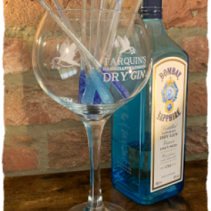 glass drinks stirrer