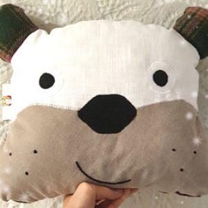 Bulldog cushion