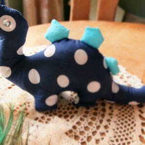 Toy Fabric Dinosaur