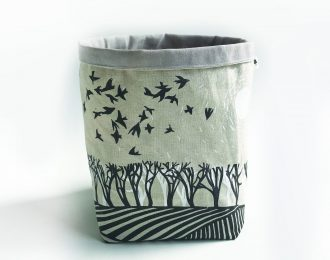"""Fields"" Textile Container (Large)"