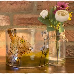 Fused Glass Tea Light