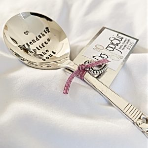 Hand stamped Spoon