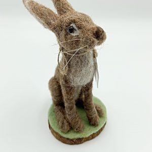 Sitting Felt Hare