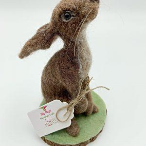 Gazing Felt Hare