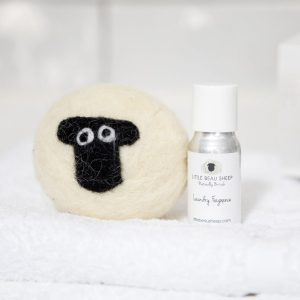 Sheep Laundry Ball and Oil