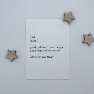 Dad print