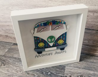 """Adventure Awaits"" Camper Plaque"