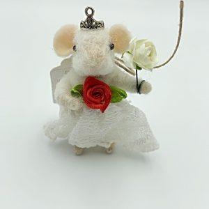 Little Princess Felt Mouse
