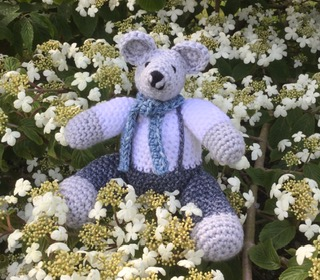 Wool toy bear
