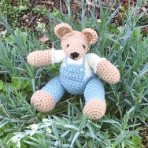 Wool Toy Bear