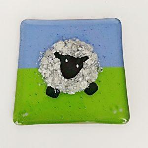 Sheep Glass Coaster