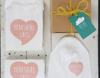 Yorkshire Lass Newborn Gift Set