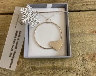 LOVE HEART Pendant with Chain