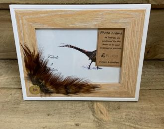 Feather Photo Frame (7×5″ pic)