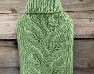 Knitted Cover Hot Water Bottle